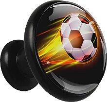 Xingruyun Kleiderschränke Knäufe Football