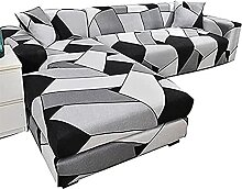 XINGSEB Couchbezug L Form 1/2/3/4 Sitzer,