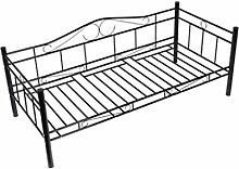 Xingshuoonline Bett Einzelbett Metall Bettgestell