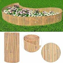 Xingshuoonline Gartenzaun/Gartenzaun aus Bambus,