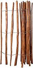 Xingshuoonline Holz-Lattenzaun Haselnussholz