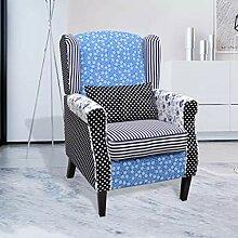 Xingshuoonline Sessel mit Retrosessel, aus Stoff,