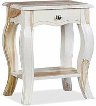 Xingshuoonline Sheesham Nachttisch aus Massivholz,
