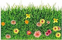 xingtuwaimao Green Lawn 3D Boden Aufkleber Vinyl