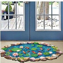 xingtuwaimao Lotusblatt Fischteich 3D Boden