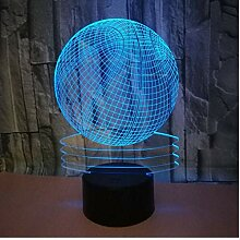 XINGXIAOYU 3D Basketball Lampe 7 Farbwechsel Led
