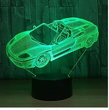 XINGXIAOYU 7 Farbe Auto Lampe 3D visuelle led