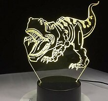 XINGXIAOYU Dinosaurier 3D Led Lampe Nachtlichter