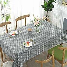 XINGXIAOYU Tischdecke Weiß,Nordic Einfache