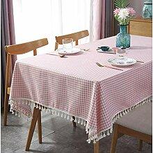 XINGXIAOYU Tischdecken Herbst,Rosa Tischdecke