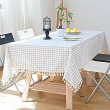 XINGXIAOYU Tischdecken Rund Quadratische