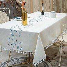 XINGXIAOYU Tischdeckenbeschwerer Blattgesäumte