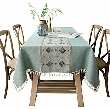 XINGXIAOYU Tischdeckenbeschwerer Grüne Quaste