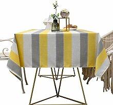 XINGXIAOYU Tischdeckenbeschwerer Rechteck Gelb