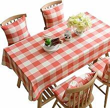 XINGXIAOYU Tischdeckenbeschwerer Rosa Quadratische