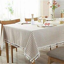 XINGXIAOYU Weisse Tischdecken,Tischdecke Mit