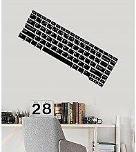 xingzhi Vinyl Wandtattoo Computer Tastatur Es