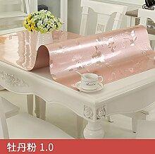 xinhao Transparente Pvc-Tischdecke, Wasserdicht