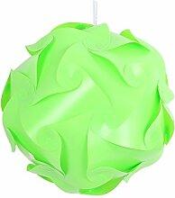 xinji IQ Puzzle Lampe DIY Smart Puzzle Fun Geschenk grün