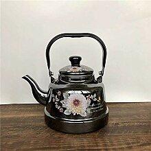 Xinjiang Teekanne, Emaille-Wasserkocher, Trompete,