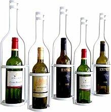 XINKONG Weinschrank aus Schmiedeeisen-Weinregal