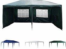Xinng 3 x 3 m Blauer wasserdichter Gartenpavillon