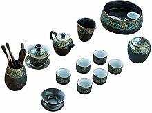 XinQuan Wang Chinesisches Kung-Fu-Tee-Set mit