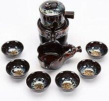 XinQuan Wang Tee-Set mit automatischem Stein,
