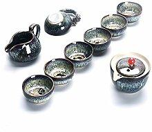 XinQuan Wang Ware Tee-Set Keramik Kung Fu Tee