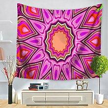 XINSU Home Tapisserie Bunte geometrische Mandala
