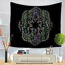 XINSU Home Tapisserie ethnische Wind Mandala Print