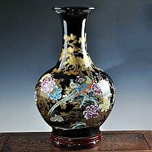 XINYOUER Chinesische Keramik-vase mit ständer