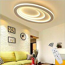 Hansiro LED Deckenlampe mit Fernbedienung 40 cm /Ø Deckenbeleuchtung f/ür Kinderzimmer Wohnzimmer Schlafzimmer Wei/ß 28 W dimmbare Deckenleuchte