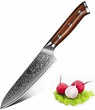 XINZUO Damast Messer Allzweckmesser 13cm Profi