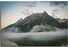 xiongda Landschaft Berge Wandfarbe Dekor Wandkunst