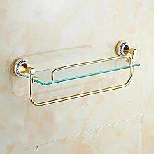 XITER Goldenes Aluminium + Glas-Material Einfach,