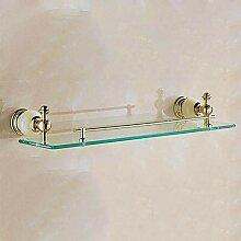 XITER Retro goldener Edelstahl + Glas-materielle