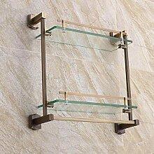 XITER Retro Kupfer + Glas haben Handtuchhalter