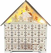 XiuginFU Weihnachtlicher Hirsch Countdown