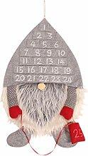 XiuginFU Weihnachtlicher schwedischer Zwerg Santa
