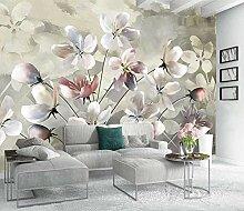 XiuTaiLtd Fototapete 3D Aquarellblume Wandbild