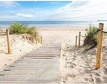 XiuTaiLtd Fototapeten Strand Meer Seide WandTapete