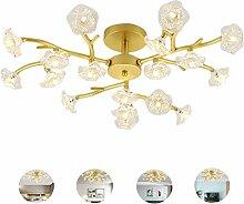Xiuxiu Wohnzimmer Kronleuchter LED Deckenleuchte