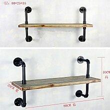 XIXI die Brett-Gestelle Raum-Dekoration-Regal-Regal-minimalistisches Eisen-Regal
