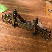 XIXI Einfache Ornamente Retro Gebäude Modell / Kreatives Geschenk / Dekorative Ornamente-A,B