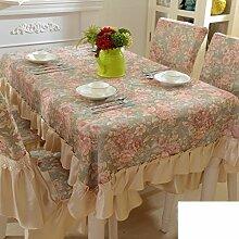 XIXI European-Style Langfristige Tischdecke Stoff Baumwolle / Tischdecke / Tischdecke,A, 130x130cm (51x51inch)