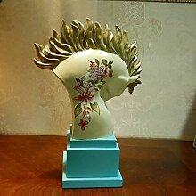 XIXI Retro Pferd Ornamente / Bar Handwerk-A,B