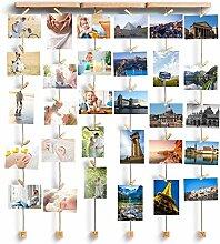 XIYAO Fotorahmen Mehrere Fotos, Bilderrahmen aus