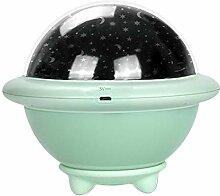 XIYAO Sternenhimmel Projektor Nachtlampe runde