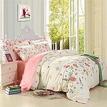 XiYunHan Mehrfarbig Bedruckte Bettbezüge für
